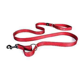 Ezydog Correa Vario 4 Rojo (Dogs , Collars, Leads and Harnesses , Leads)