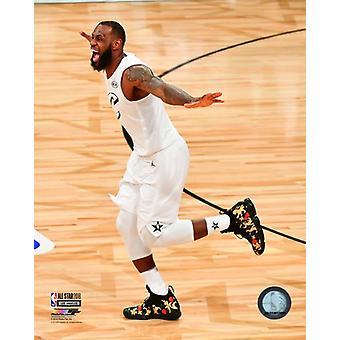 LeBron James 2018 NBA All-Star Game Photo Print