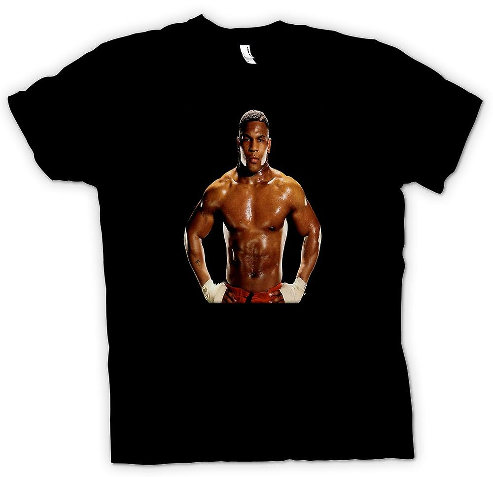 Hommes T-shirt - Formation de boxe Mike Tyson