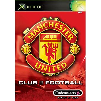 Club voetbal Manchester United