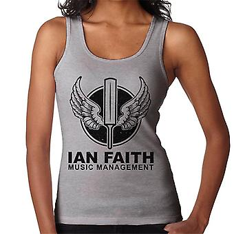 Spinal Tap Ian Faith Musik Management Damen Weste