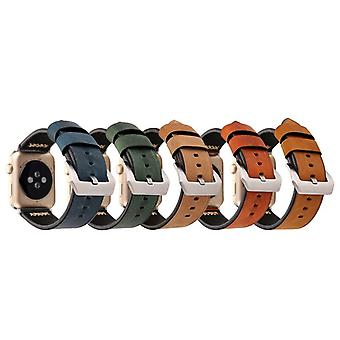 High quality genuine leather watch strap for Apple Watch 1 / 2 / 3 series 38 mm and 42 mm accessories new