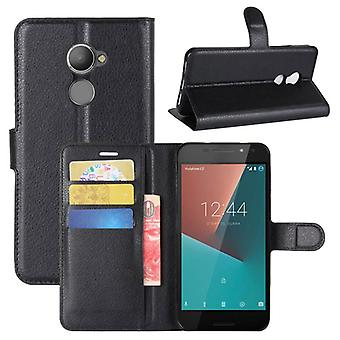 Pocket wallet premium black for Vodafone smart N8 protection sleeve case cover pouch new