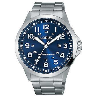 メンズ ステンレス鋼のブレスレット ブルー ダイヤル RH925GX9 時計