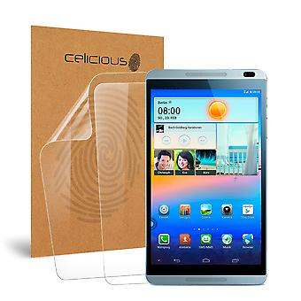 Celicious Vivid Invisible Screen Protector for Huawei MediaPad M1 8.0 [Pack of 2]