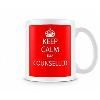 Keep Calm Im A Counseller Printed Mug Printed Mug