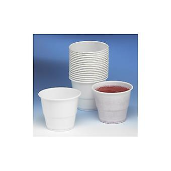 Bella Plastic beaker Bet Combi 21cl white (fp about 80th)