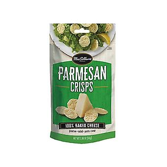 Mrs. Cubbison van Parmezaanse kaas chips gebakken