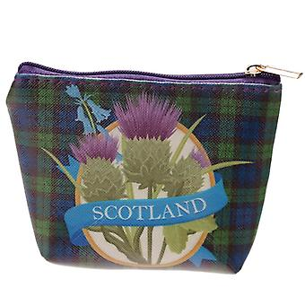 Bonnie Scotland monedero de PVC con cardo