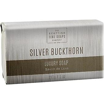 Scottish Fine savons Silver nerprun luxe Soap Bar