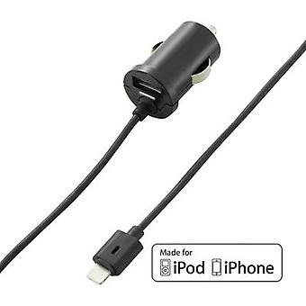 VOLTCRAFT CLC-2000USB CLC-2000USB iPad/iPhone/iPod charger Car Max. output current 2000 mA 2 x USB, Apple Dock lightning