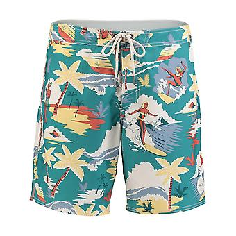 ONeill Green Aop Socal Boardshorts