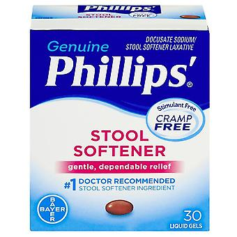 Phillips stool softener, liquid gels, 30 ea