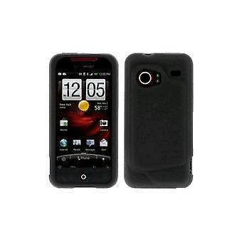 HTC - Silikonhülle für HTC Droid Incredible - schwarz