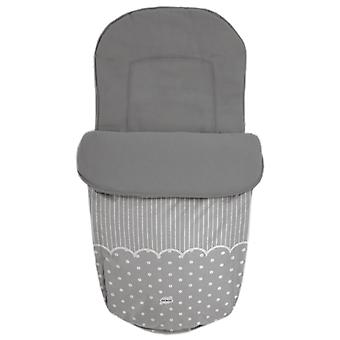 Baby Star Saco para silla universal impermeable Gris