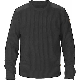 Fjallraven Singi stickad tröja - Mörk marinblå