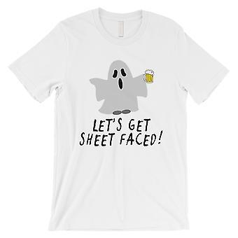 Let's Get blad geconfronteerd Mens wit T-Shirt