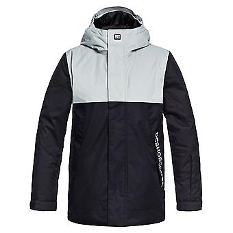 DC Black Defy Kids Snowboarding Jacket