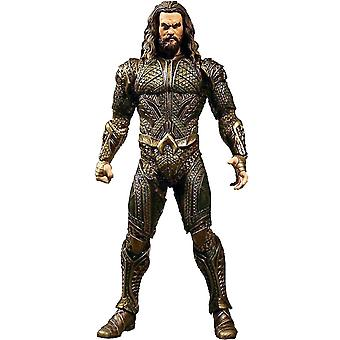 Justice League on : 12 Aquaman action figure détaillée figurine en plastique de 100 %. Fabricant : MEZCO.