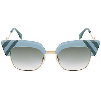 Fendi Square Sunglasses FF0241S MVU 9K 50