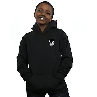 Disney Boys Mickey Mouse Don't Speak Breast Print Hoodie
