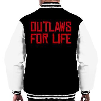 Outlaws voor leven Red Dead Redemption mannen Varsity Jacket