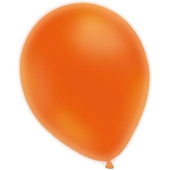 Balloons Neon Orange 25-pack