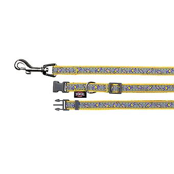 Trixie Highly Reflective Collar With Dog Leash
