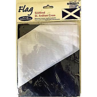 5ft x 3ft Flag - Scotland - St Andrew Cross
