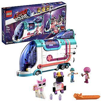 70828 LEGO der Lego Film 2 Pop-Up-Bühne-Dj Party-Spaß-Bus