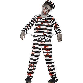 Zombie Convict Costume, Small Age 4-6