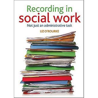 Aufnahme in der sozialen Arbeit - nicht nur eine Administrative Aufgabe von Liz O'Ro