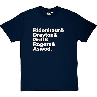 Der öffentliche Feind Line-Up Männer T-Shirt