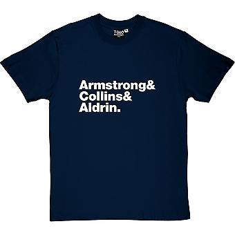 Apollo 11 Line-Up Men's T-Shirt