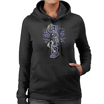 Classic Steampunk Gentleman Women's Hooded Sweatshirt