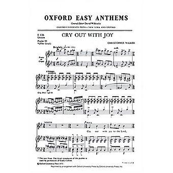 Pousser un cri de joie: chant, piano