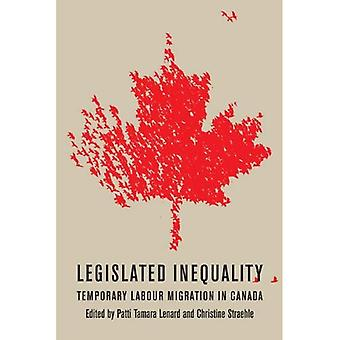 Legislated Inequality