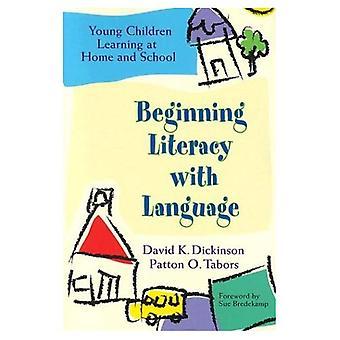 Beginning Literacy met taal: jonge kinderen leren thuis en op School