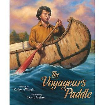 La pagaie de Voyageurs (contes de jeunes américains)