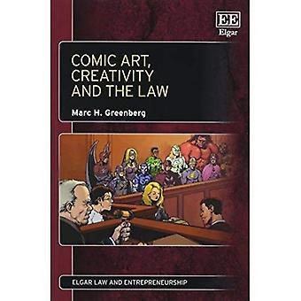 Cómic, la creatividad y la ley (Ley de Elgar y serie de emprendimiento)