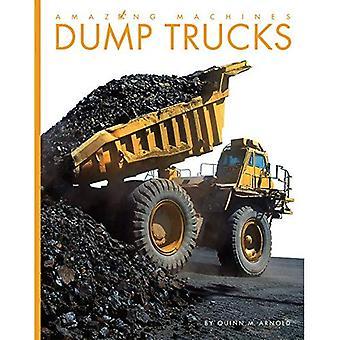 Dumpa lastbilar (fantastiska maskiner)