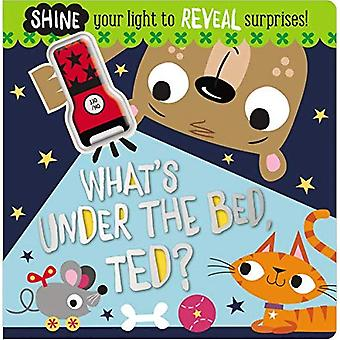 Board Book What's Under the Bed, Ted? [Board book]