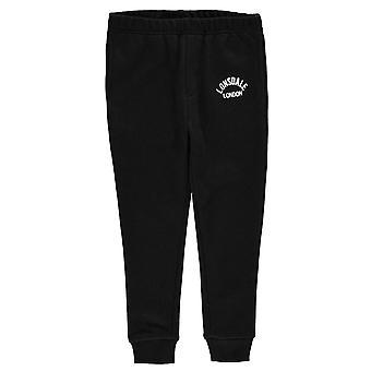 Lonsdale niños niño pantalones Jogging Tracksuit Bottoms pantalones niños paño grueso y suave