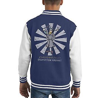 Inspector Gadget Retro Japanse Kid's Varsity Jacket