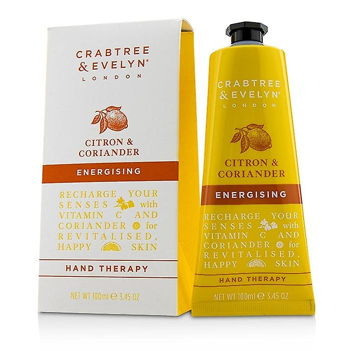 100ml Energising Therapy Hand Evelyn Coriander Crabtreeamp; Citron 3 45oz BCxode