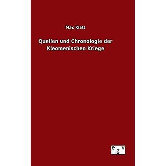 Quellen und Chronologie der Kleomenischen Kriege by Klatt & Max