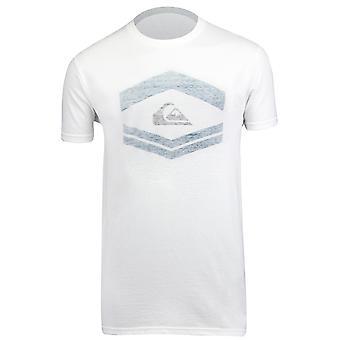 Quiksilver Mens Friendly Fire T-Shirt-vit