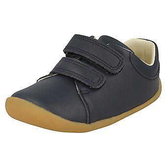 Детский мальчиков девочек Clarks предварительно ходьбы обувь Roamer ремесло