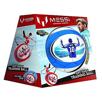 Flair Messi Training Soft Touch Training Ball - Blue And White