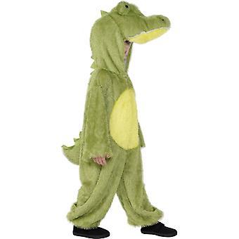 Krokodilkostüm  KINDER Krokodil Schnappi Kostüm